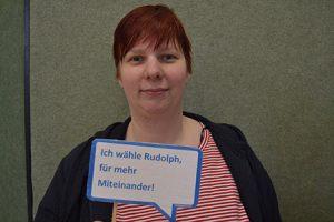 Anke Koucham: Ich wähle Rudolph, für mehr Miteinander!